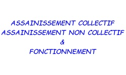 assainissement  collectif non collectif